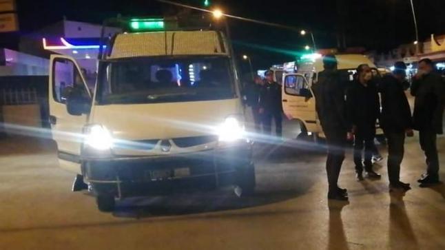 """مطاردة """" قائد """" توقف سيارة بعد حادثة سير في آيت ملول"""
