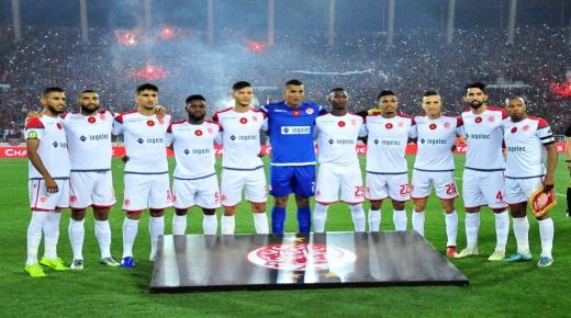 تاريخ مباريات الوداد القارية بتونس