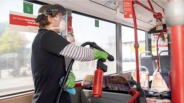 ألمانيا.. طلاء خاص في الحافلات للحماية من فيروس كورونا