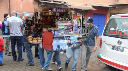 """أكادير : صدمة ساكنة أنزا بعد اعتقال """"بقال"""" عثر على ما لم يتوقعوه في محله"""