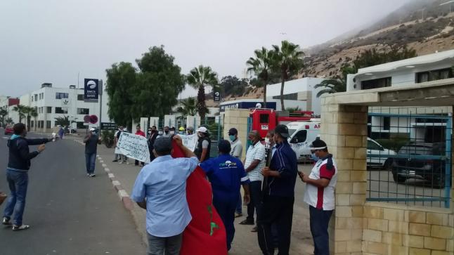 اكادير : ضباط وبحارة وعمال شركة درابور يناشدون تدخل الملك متهمين الوزير اعمارة بتهديد الأمن البحري المغربي