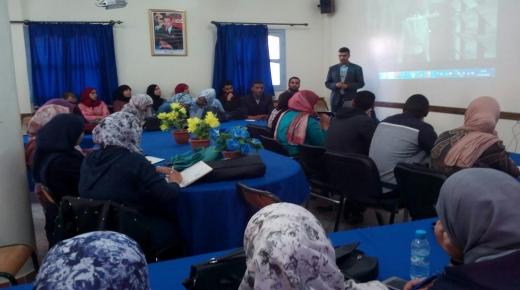 دورة تكوينية لأطر ومدرسي ذوي الاحتياجات الخاصة في سيدي بيبي