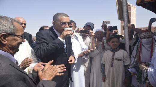 """""""خلوق"""" يعطي انطلاقة تزويد دواوير جماعة سيدي عبدالله البشواري بالماء الصالح للشرب"""