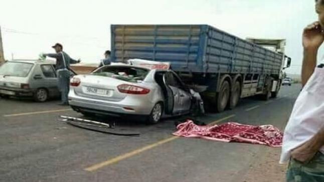 وفاة شخصين وإصابة آخرين في حادث مروري بتزنيت
