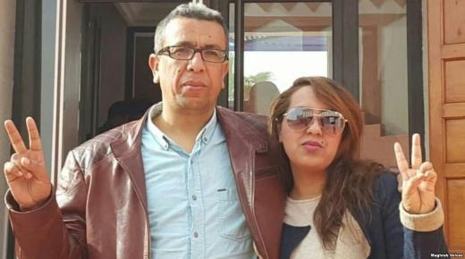 """بعد ثلاث سنوات من الإعتقال، الصحفي """"المهداوي"""" يعانق الحرية"""