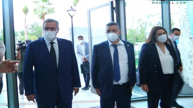 رئيس الحكومة أخنوش يبدأ المشاورات بلقاء وهبي والمنصوري
