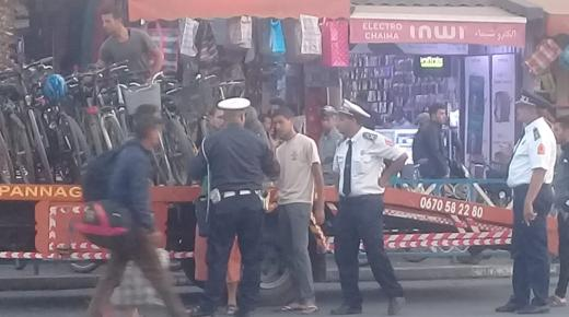 حملة أمنية صارمة تسفر عن حجز مجموعة من الدراجات النارية والعادية بأولاد تايمة