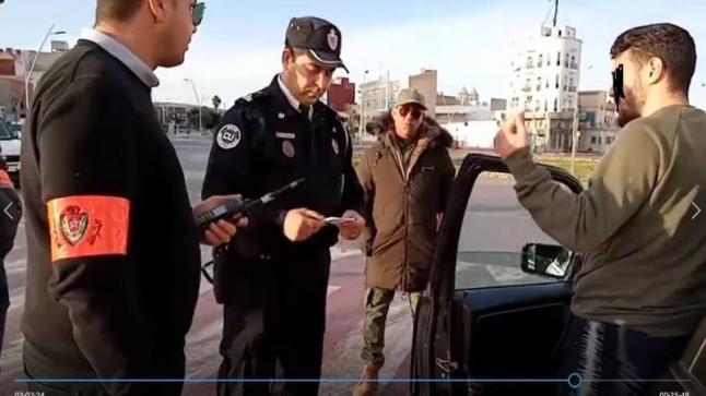 توقيف سيارة ب 4 اشخاص قادمة من طنجة في بيوكرى