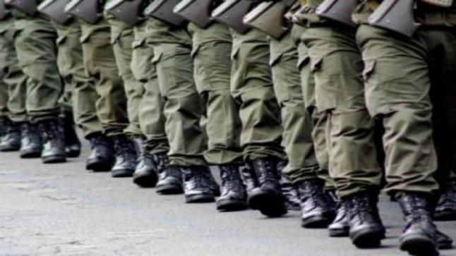 """""""العصيان"""" يقود مجندين في الخدمة العسكرية للاعتقال"""