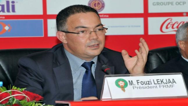 لقجع:المغرب أصبح يتوفر على مركب كروي من المستوى العالمي