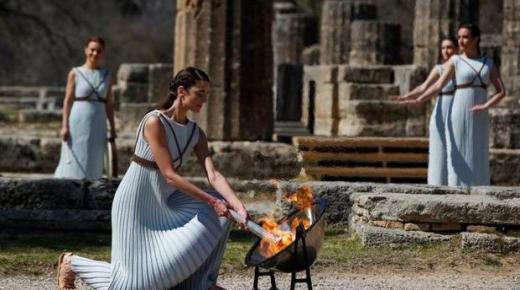اليونان: إيقاد شعلة أولمبياد طوكيو 2020 بدون حضور جمهور