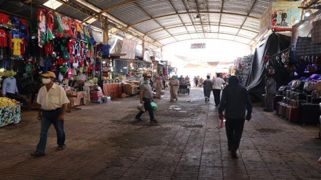مباشرة بعد تخفيف الحجر الصحي .. مدينة انزكان تستعيد حركتها التجارية والاقتصادية